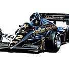 Lotus JPS Formula One Car by davidkyte