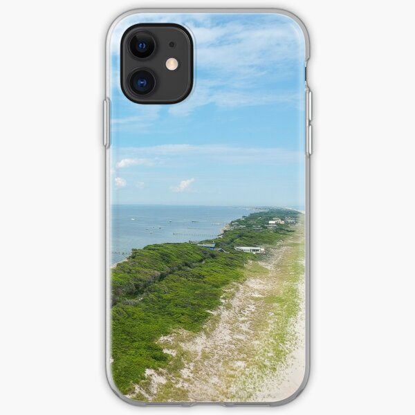 Barret Beach, Fire Island, NY iPhone Soft Case