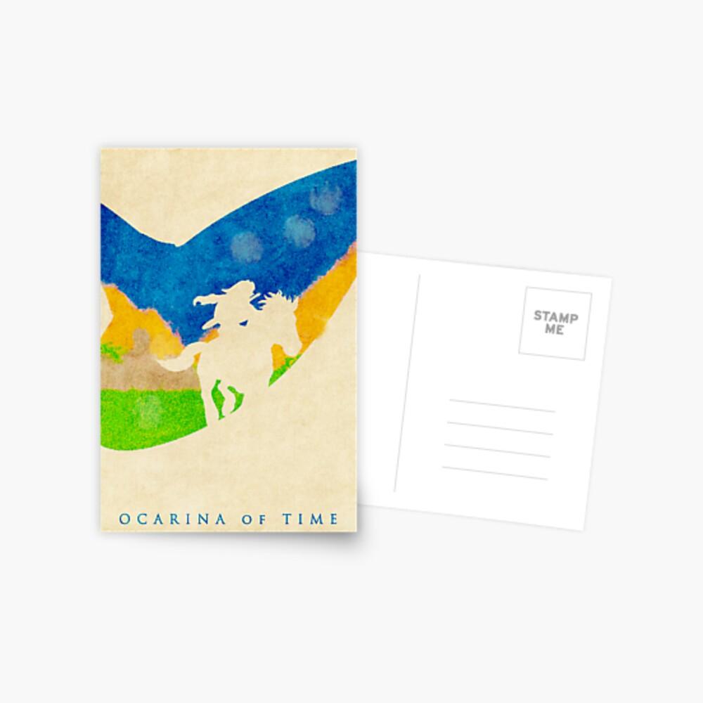 Ocarina Postkarte