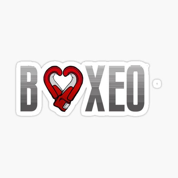 AMO AL BOXEO: BOXING Sticker