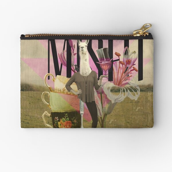Unshackled, Misfit by Lendi Hader Zipper Pouch