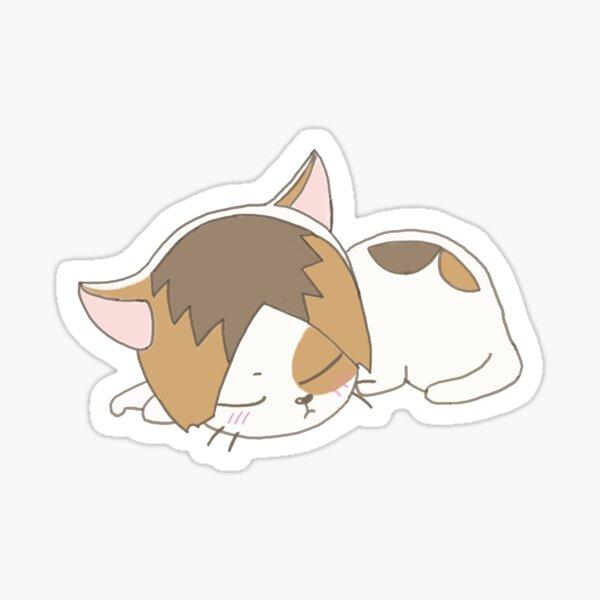 Cute Kenma Cat Cut-Scene  Sticker