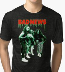 BAD NEWS Comic Strip Presents Tri-blend T-Shirt