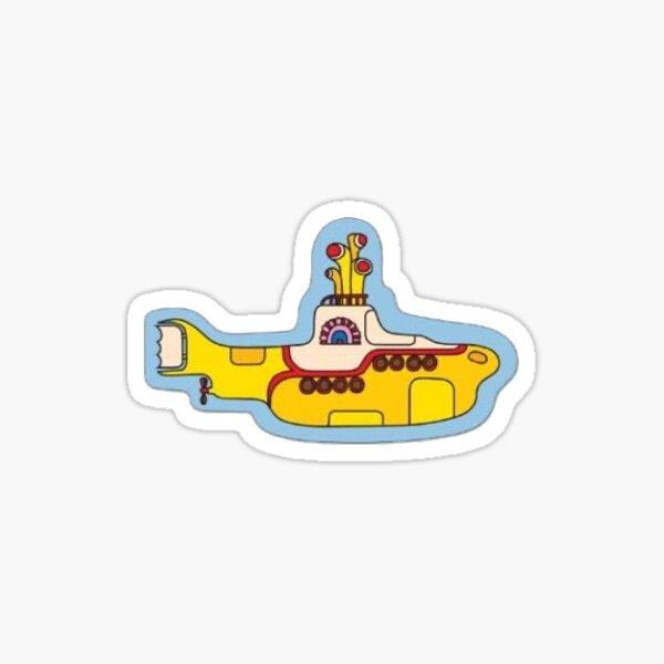 The Beatles Yellow Submarine Print Sticker