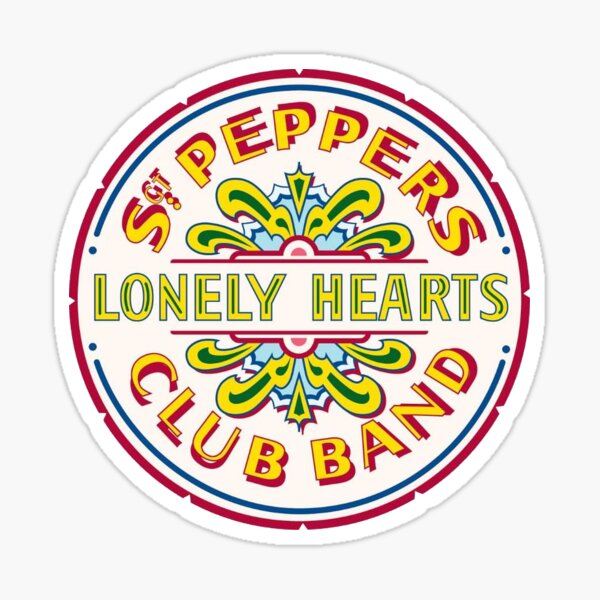 Sgt. Peppers Lonely Hearts Club The Beatles Sticker