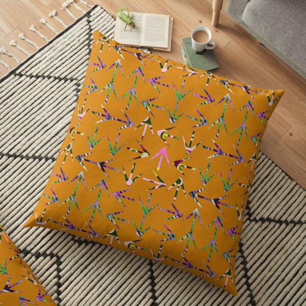 Turkey Tracks  Floor Pillow