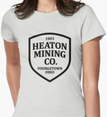 Heaton Mining Co. (alt. version) - Inspired by Springsteen's 'Youngstown' (unofficial) Womens Fitted T-Shirt