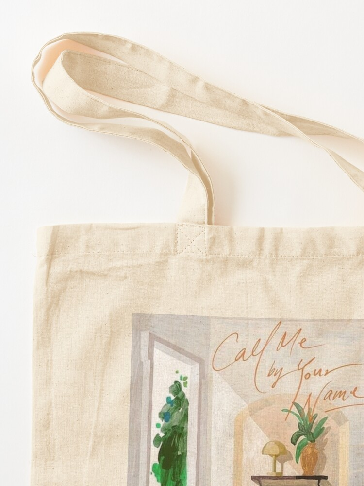 Alternate view of Call Me By Your Name Korean Poster Tote Bag