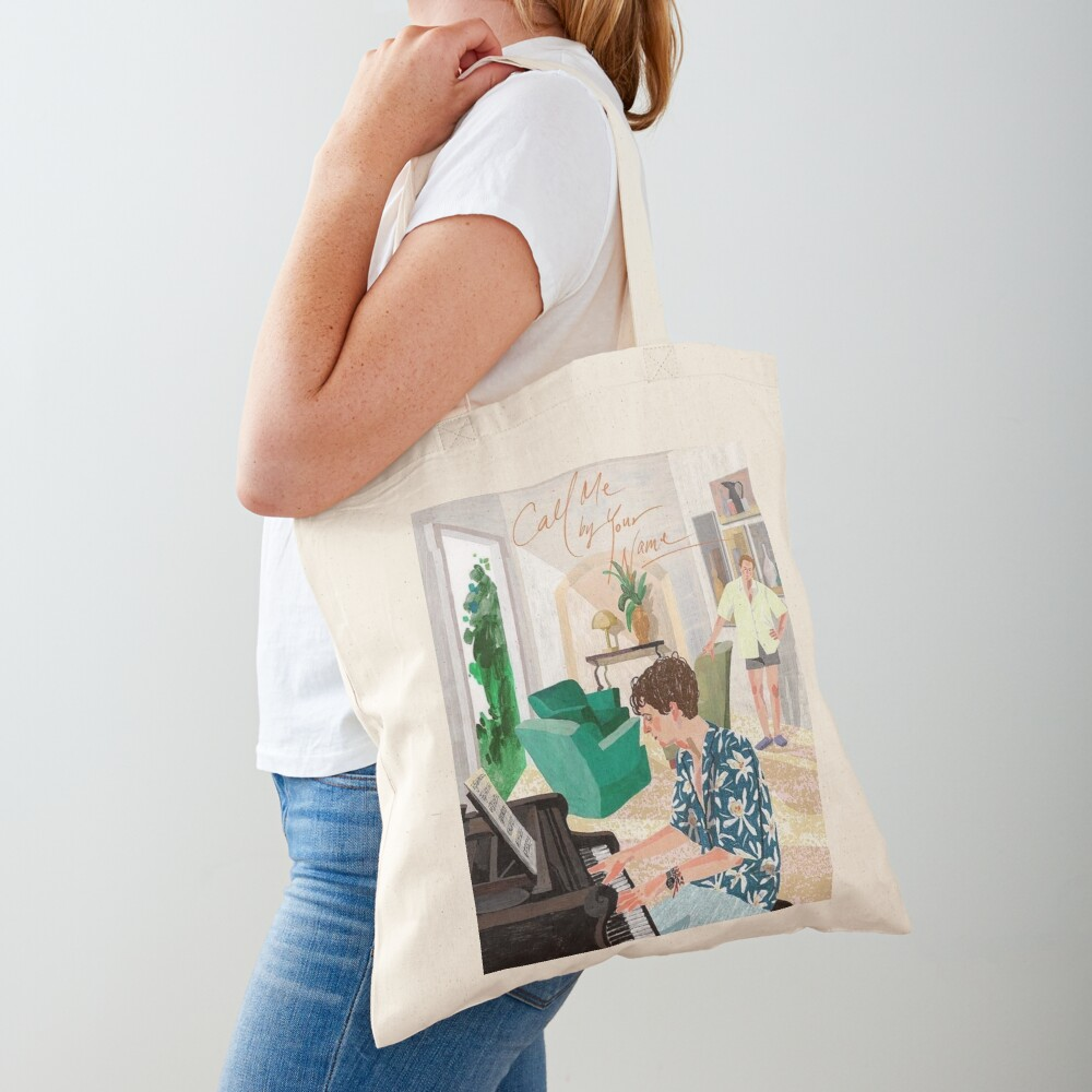 Call Me By Your Name Korean Poster Tote Bag