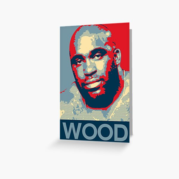 WOOD Greeting Card