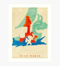 Waker Art Print