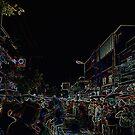 Chiang Mai Night Market by David J. Hudson