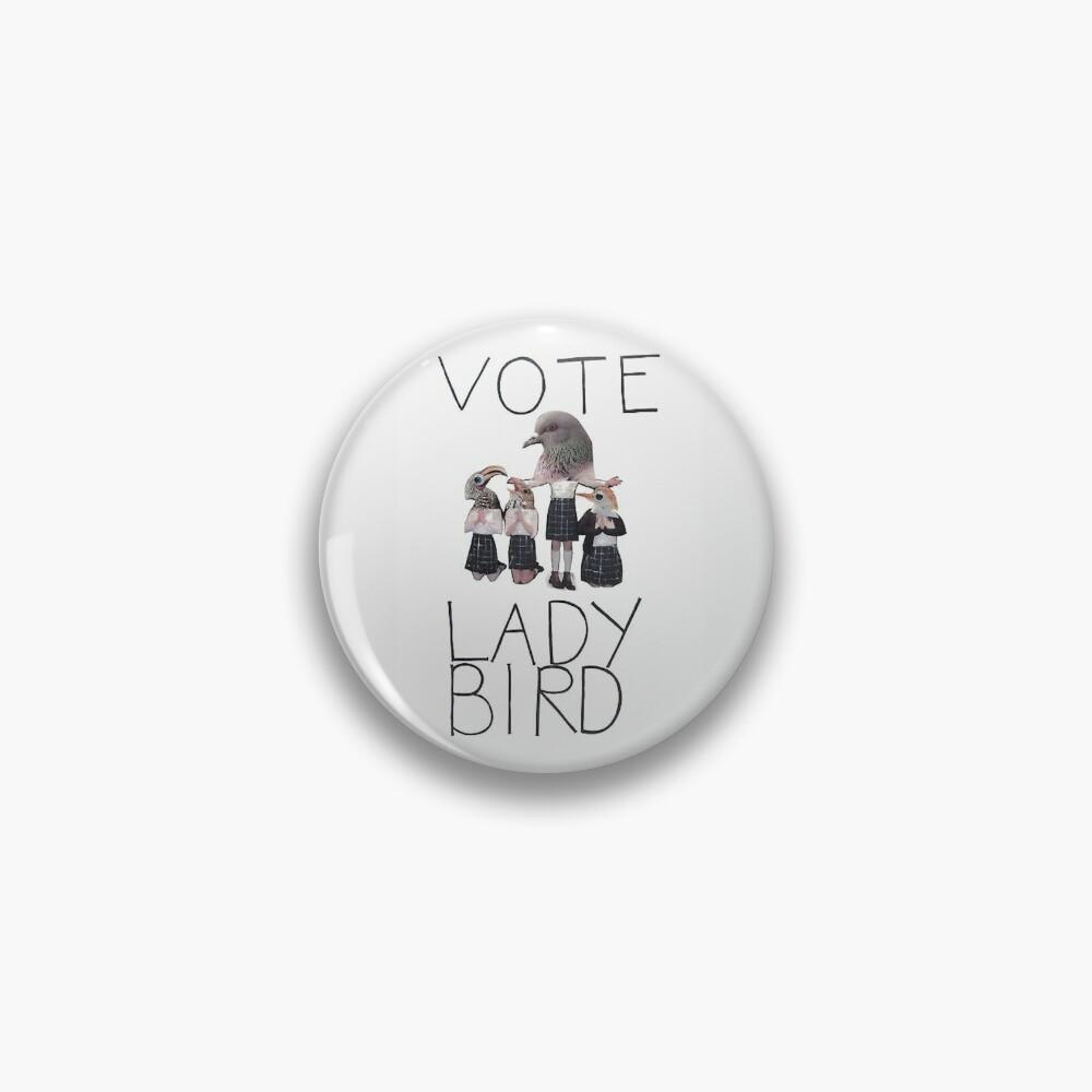 Vote Lady Bird Pin