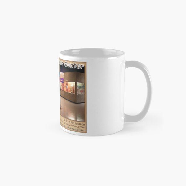 Parkway Visitor Center on the Natchez Trace Parkway. Classic Mug
