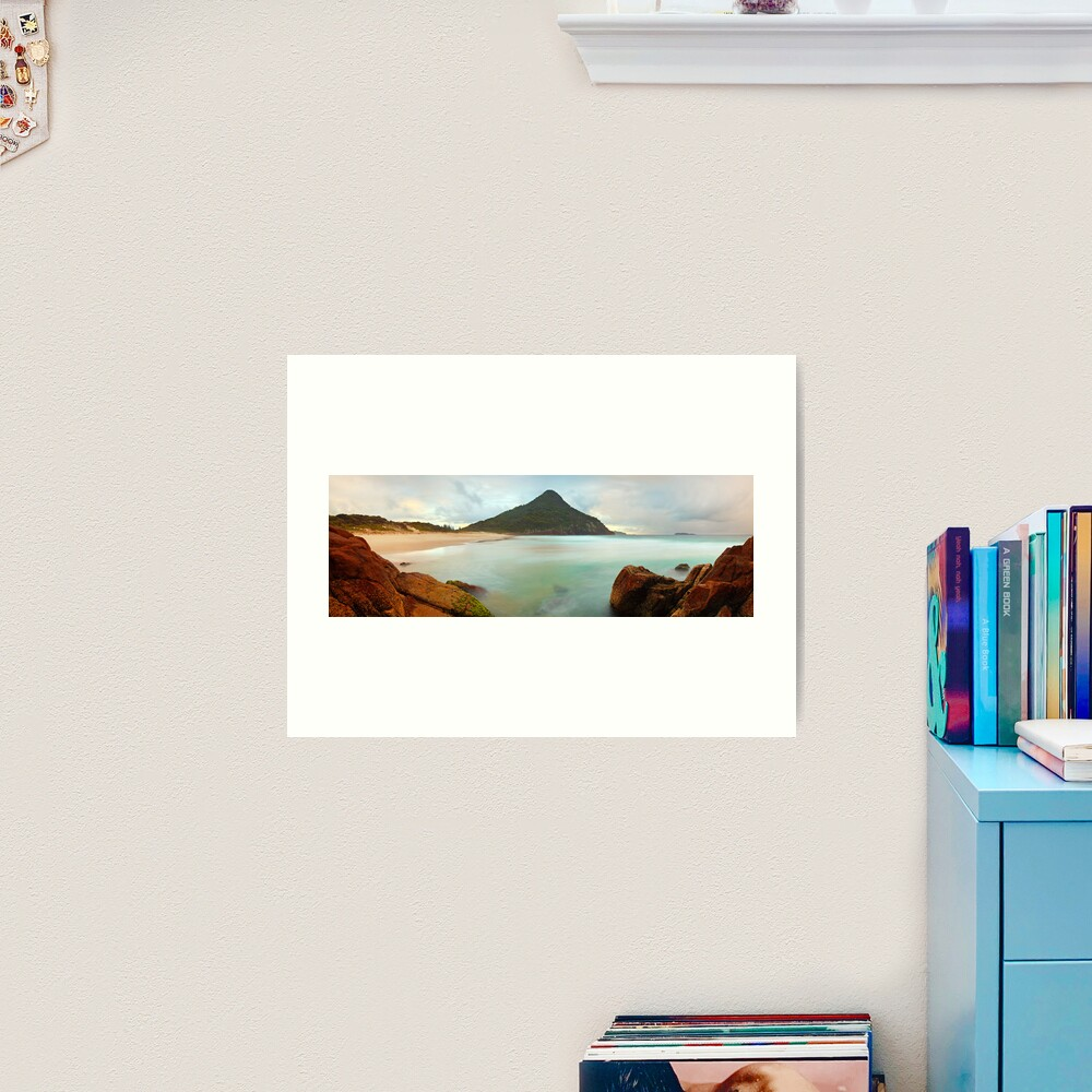 Zenith Beach, Shoal Bay, New South Wales, Australia Art Print