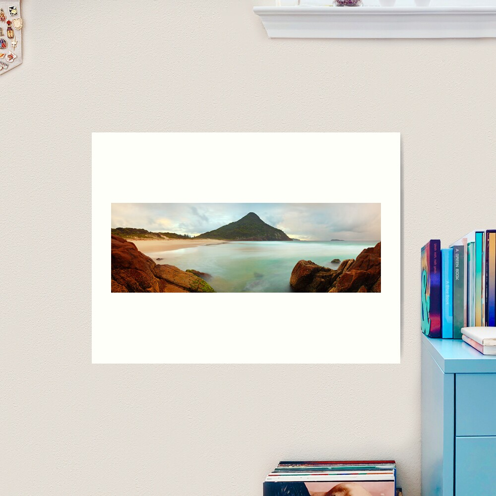 Zenith Beach, Shoal Bay, New South Wales, Australia Art Print