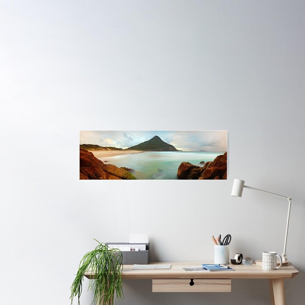 Zenith Beach, Shoal Bay, New South Wales, Australia Poster