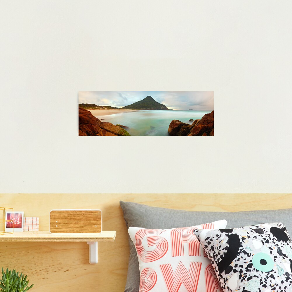 Zenith Beach, Shoal Bay, New South Wales, Australia Photographic Print