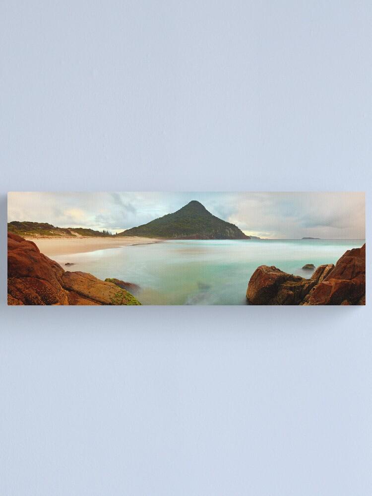 Alternate view of Zenith Beach, Shoal Bay, New South Wales, Australia Canvas Print
