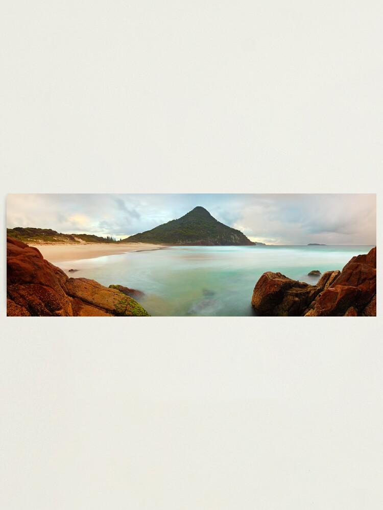 Alternate view of Zenith Beach, Shoal Bay, New South Wales, Australia Photographic Print