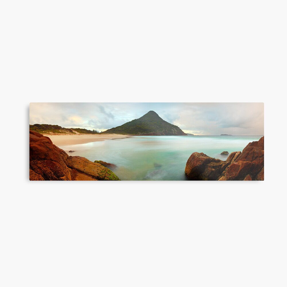 Zenith Beach, Shoal Bay, New South Wales, Australia Metal Print