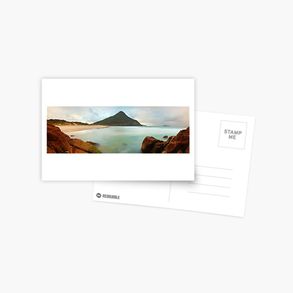Zenith Beach, Shoal Bay, New South Wales, Australia Postcard