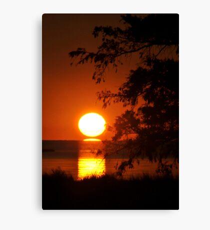 Salvo Sunset Canvas Print