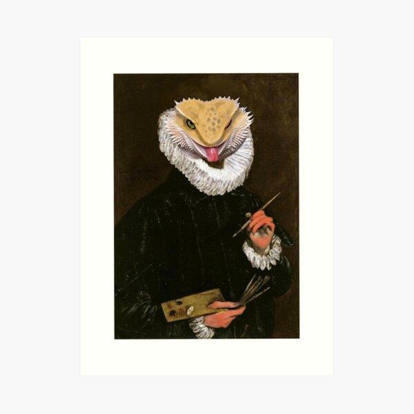 Portrait of Victor Art Print