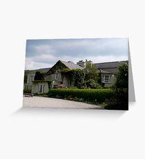 Gregans Castle Hotel Greeting Card