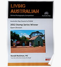 Winning Entry In Australia Day Photographic Competition 2012 Poster