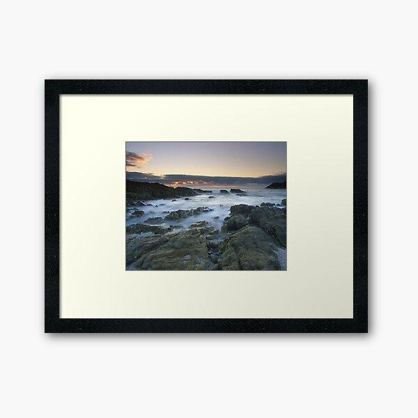 """Sea of Solitude"" ∞ Mimosa Rocks, NSW - Australia Framed Art Print"