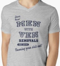 Peep Show – Men With Ven Men's V-Neck T-Shirt