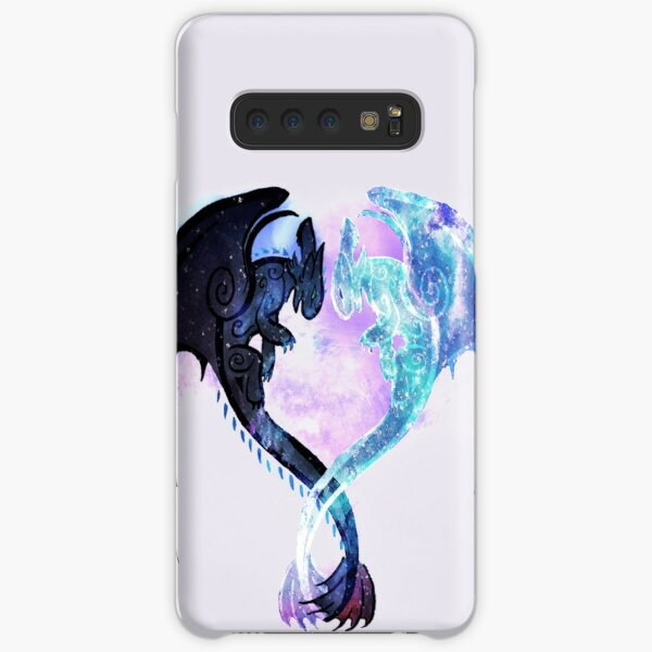 Dragon Heart Toothless and Light Fury Samsung Galaxy Snap Case