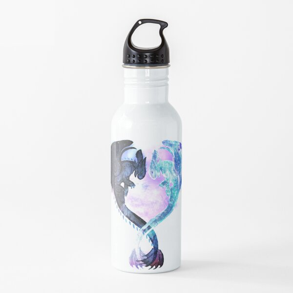 Dragon Heart Toothless and Light Fury Water Bottle