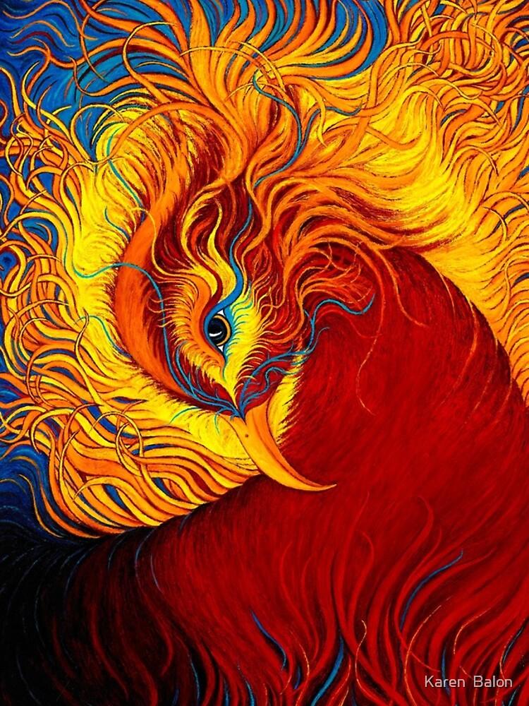 Phoenix Rising by karenbalon