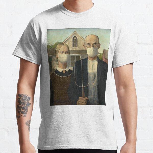 Coronavirus gothique américain T-shirt classique