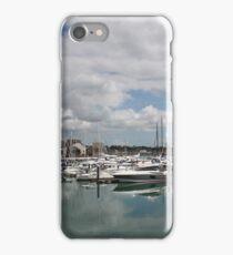 Quiet Marina Reflections iPhone Case/Skin