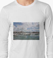 Quiet Marina Reflections Long Sleeve T-Shirt