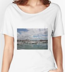 Quiet Marina Reflections Women's Relaxed Fit T-Shirt