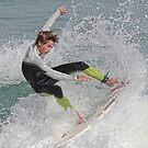New Symrna Surfer by Deborah  Benoit