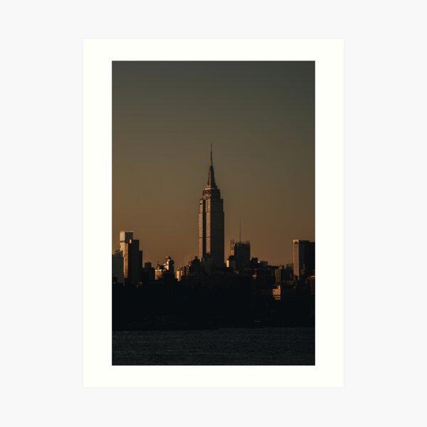 Twilight Empire Art Print