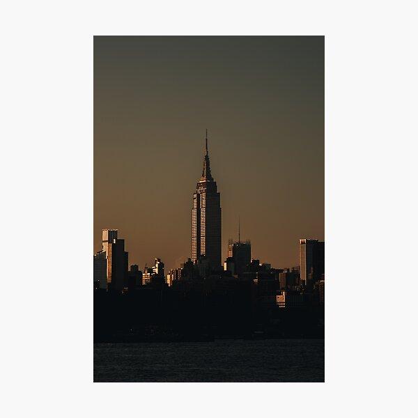 Twilight Empire Photographic Print
