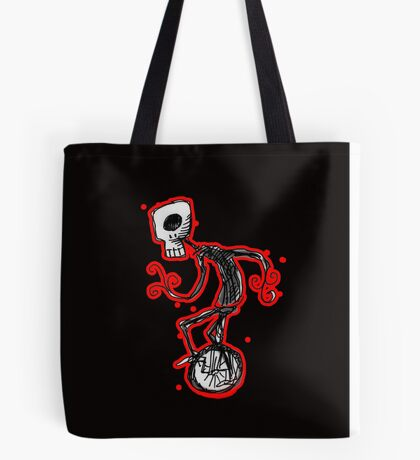 cyclops on a unicycle Tote Bag