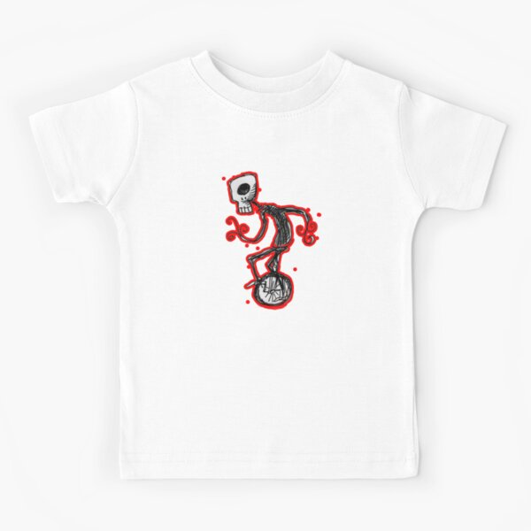 cyclops on a unicycle Kids T-Shirt