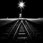 Rail X-ing by Pene Stevens