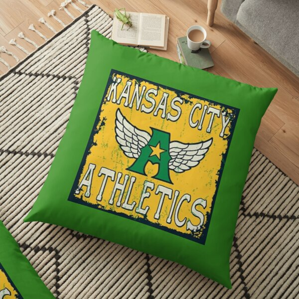 Defunct - Kansas City Athletics Floor Pillow