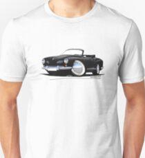 Karmann Ghia Cabriolet Black T-Shirt