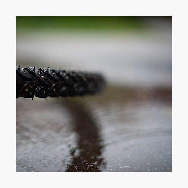 Wet when slippery Photographic Print