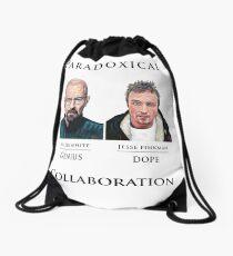 Paradoxical Collaboration Drawstring Bag