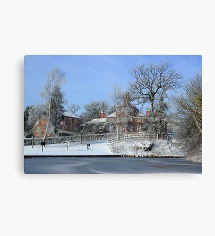 The White Swan Hotel Canvas Print